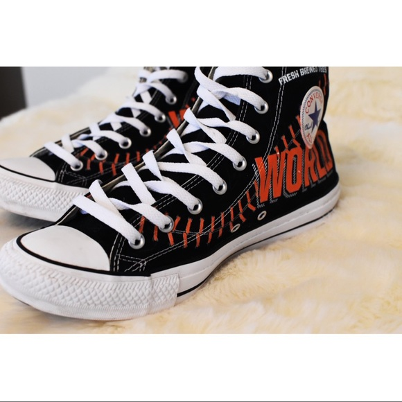 Converse Other - All Star Converse 2014 Giants World Champs  11.5